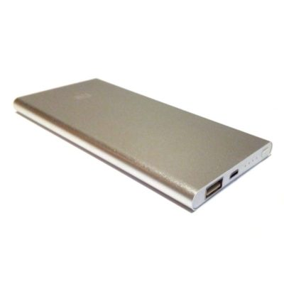 Тонкий Power Bank Xiaomi MI slim 24000 mAh