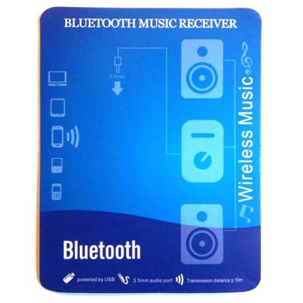 Bluetooth - приемник (audio music reciever)