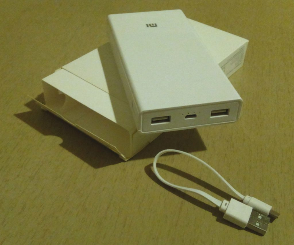 Power Bank Xiaomi Mi 20000