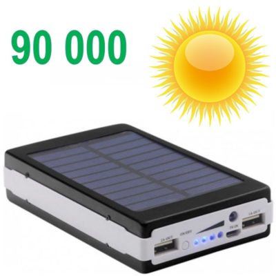 power bank solar 90000